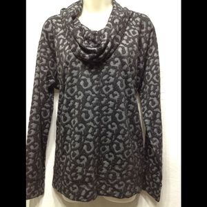 Women's size XL JONES NEW YORK SPORT cowl neck top